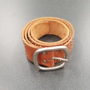 Fossil brown leather belt size medium